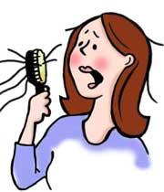 ریزش مو تا چه حدی طبیعی است؟